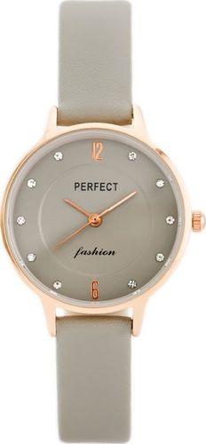 Zegarek Perfect PERFECT A3086 (zp855c) grey/rosegold uniwersalny