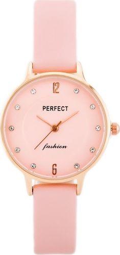 Zegarek Perfect PERFECT A3086 (zp855b) pink/rosegold uniwersalny
