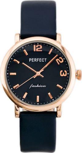 Zegarek Perfect PERFECT A3056 (zp854e) navy/grey/rosegold uniwersalny