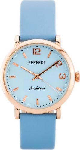 Zegarek Perfect PERFECT A3056 (zp854d) blue/rosegold uniwersalny