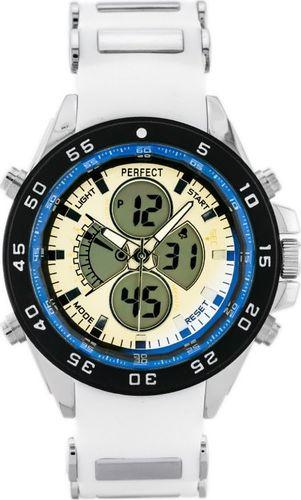 Zegarek Perfect PERFECT PASAGON (zp116f) - white uniwersalny