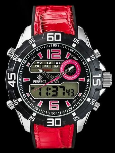 Zegarek Perfect PERFECT A837 - red (zp177b) uniwersalny