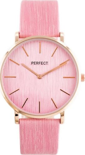 Zegarek Perfect PERFECT A3067 (zp860d) pink/rose gold uniwersalny