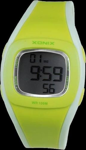 Zegarek Xonix damski HL-002 żółty (zk507a)