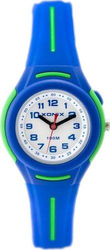 Zegarek Xonix Xonix AAD-003 - WODOSZCZELNY Z ILUMINATOREM (zk546b) uniwersalny