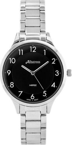 Zegarek Albatross ALBATROSS Mirage ABBC02 (za538d) silver/black II uniwersalny
