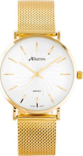 Zegarek Albatross ALBATROSS ABBC12 (za541b) gold uniwersalny