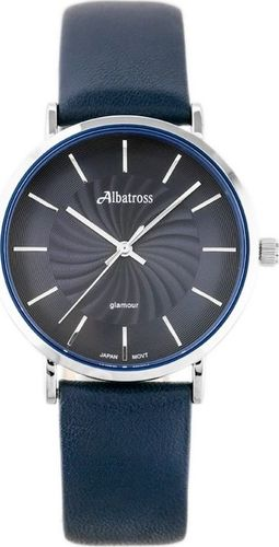 Zegarek Albatross ALBATROSS ABAC11 (za540c) navy blue / silver uniwersalny