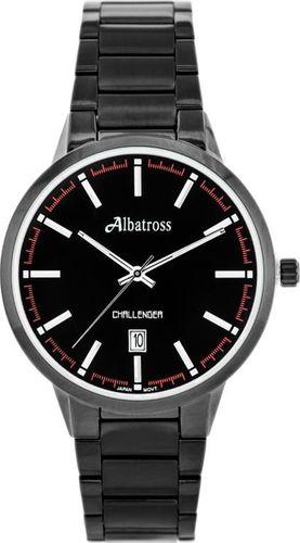 Zegarek Albatross ALBATROSS Challenger ABDC06 (za059c) black uniwersalny