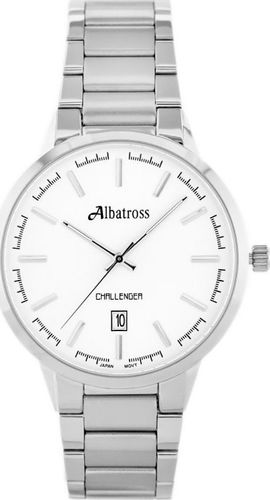 Zegarek Albatross ALBATROSS Challenger ABDC06 (za059a) silver uniwersalny