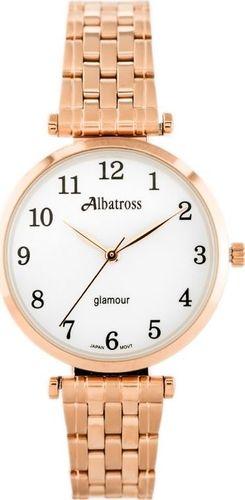 Zegarek Albatross ALBATROSS Glamour ABBB97 (za537c) rose gold/white uniwersalny
