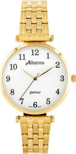 Zegarek Albatross ALBATROSS Glamour ABBB97 (za537b) gold/white uniwersalny