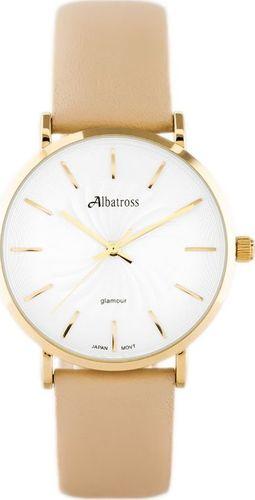 Zegarek Albatross ALBATROSS ABAC11 (za540b) beige / gold uniwersalny