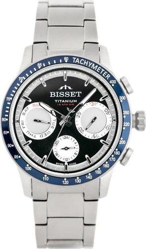 Zegarek Bisset BISSET BSDE37 - TYTANOWY (zb057c) uniwersalny
