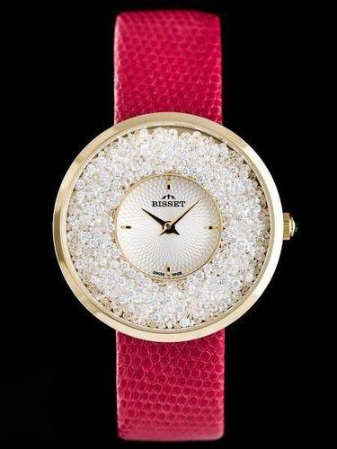 Zegarek Bisset Damski BSAE04 czerwony (12211)