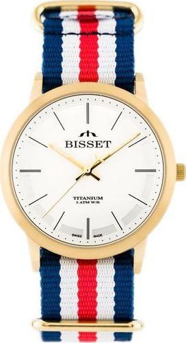 Zegarek Bisset BISSET BSFE42 - TYTANOWY (zb053a) uniwersalny