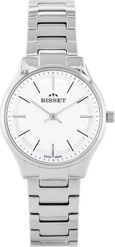 Zegarek Bisset BISSET BSBE67 - silver (zb557a) uniwersalny