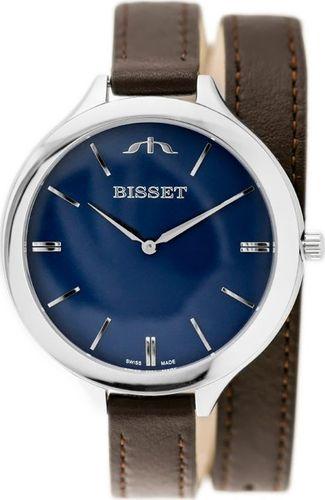 Zegarek Bisset BISSET BSAE20 - brown (zb545e) - DŁUGI PASEK uniwersalny
