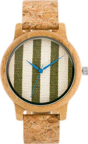 Zegarek Bobobird Drewniany zegarek Bobobird - korkowy pasek (zx635b) uniwersalny