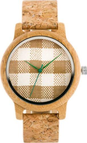 Zegarek Bobobird Drewniany zegarek Bobobird - korkowy pasek (zx635a) uniwersalny
