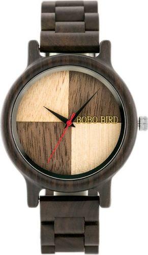 Zegarek Bobobird Drewniany zegarek BOBOBIRD (zx058a) uniwersalny