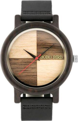 Zegarek Bobobird Drewniany zegarek BOBOBIRD (zx065a) uniwersalny