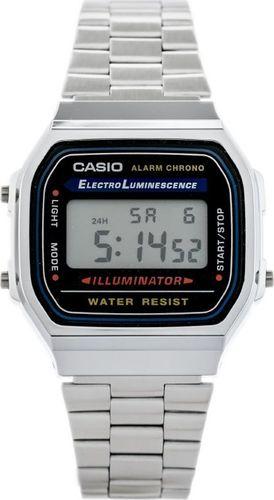 Zegarek Casio CASIO A168WA-1A (zd088a) - KLASYKA uniwersalny