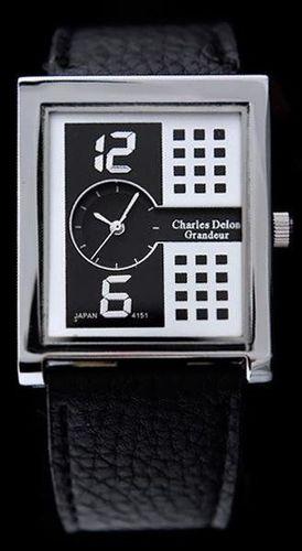 Zegarek Charles Delon CHARLES DELON 4151 - WHITE CAVALIER (zc007b) uniwersalny