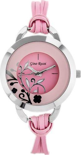 Zegarek Gino Rossi Gino Rossi - LACCIO II (zg595l) -pink uniwersalny
