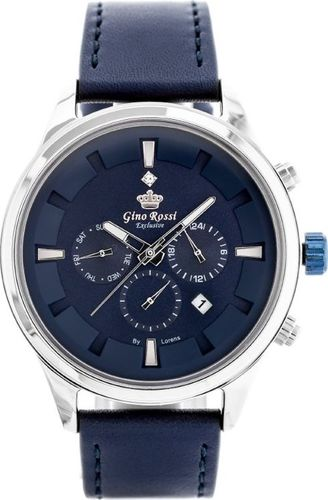 Zegarek Gino Rossi ZEGAREK MĘSKI GINO ROSSI E11658A - EXCLUSIVE(zg291b) uniwersalny