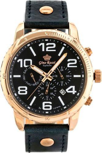 Zegarek Gino Rossi ZEGAREK MĘSKI GINO ROSSI W9566K - EXCLUSIVE(zg290d) uniwersalny