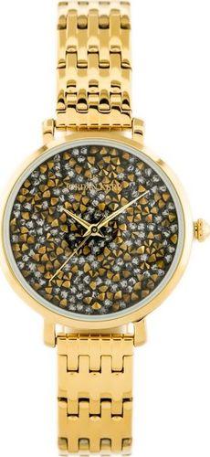 Zegarek Jordan Kerr JORDAN KERR - SS357 (zj926f) gold/graphite uniwersalny