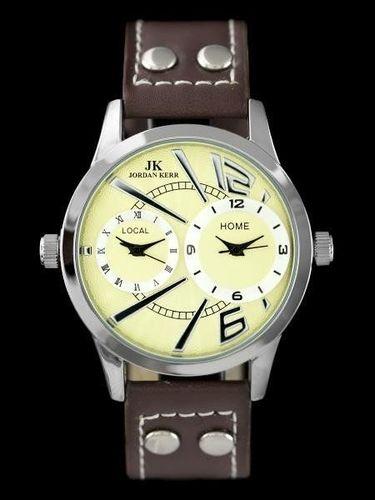 Zegarek Jordan Kerr JORDAN KERR - COSMO (zj668c) - DUAL TIME uniwersalny