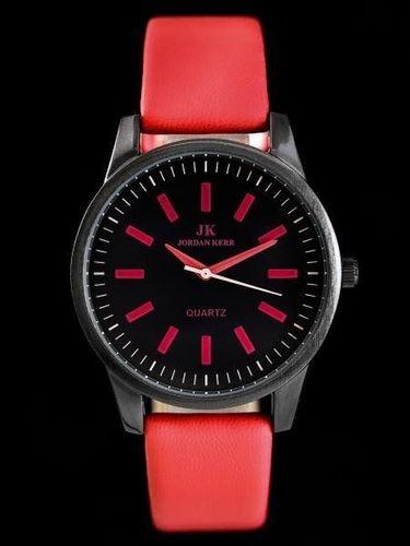 Zegarek Jordan Kerr JORDAN KERR - VELVET - red (zj614c) uniwersalny