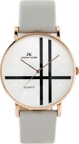 Zegarek Jordan Kerr JORDAN KERR - SIMPLE (zj673d) -antyalergiczny uniwersalny