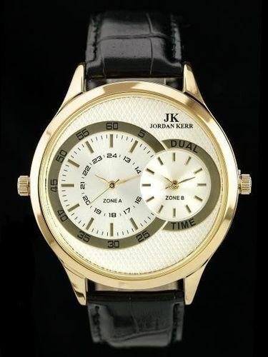 Zegarek Jordan Kerr JORDAN KERR - BLINK - DUAL TIME (zj043c) uniwersalny