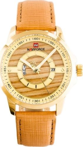 Zegarek Naviforce NAVIFORCE - NF9151 (zn082c) - brown/gold+ box uniwersalny