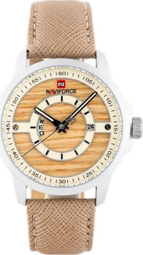 Zegarek Naviforce NAVIFORCE - NF9151 (zn082b) - beige + box uniwersalny