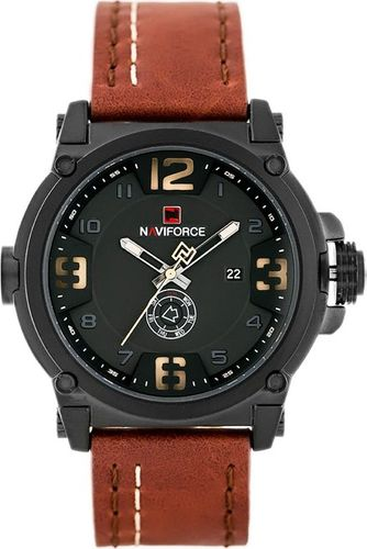 Zegarek Naviforce NAVIFORCE - NF9099 (zn079d) - brown/black + box uniwersalny