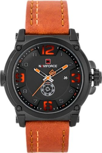 Zegarek Naviforce NAVIFORCE - NF9099 (zn079c) - orange + box uniwersalny