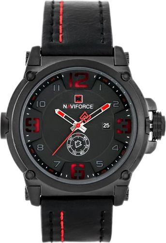 Zegarek Naviforce NAVIFORCE - NF9099 (zn079b) - black/red + box uniwersalny
