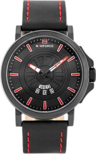 Zegarek Naviforce NAVIFORCE - NF9125 (zn068b) - black/red uniwersalny