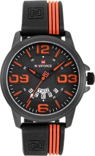 Zegarek Naviforce NAVIFORCE - NF9123 (zn067d) - black/orange uniwersalny