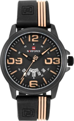 Zegarek Naviforce NAVIFORCE - NF9123 (zn067b) - black/beige uniwersalny