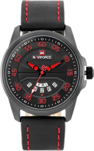 Zegarek Naviforce NAVIFORCE - NF9124 (zn055e) - black/red uniwersalny