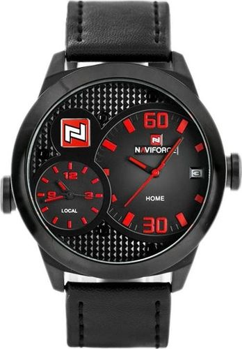Zegarek Naviforce NAVIFORCE HANK - DUAL TIME (zn022b) - HIT uniwersalny