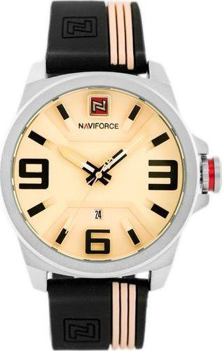 Zegarek Naviforce NAVIFORCE - NF9098 (zn045a) - beige/black uniwersalny