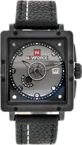 Zegarek Naviforce NAVIFORCE - HINDENBURG (zn035a) - black uniwersalny