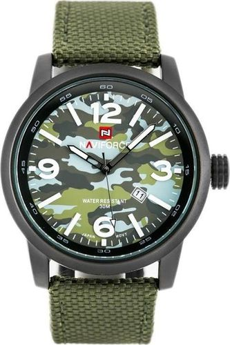 Zegarek Naviforce NAVIFORCE - COMMANDO (zn034b) - green uniwersalny