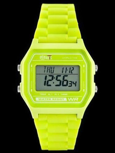 Zegarek OCEANIC damski M1103 WR100 żółty (ze511b)